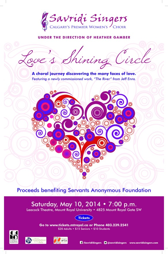 Savridi Singers Spring Poster 2014